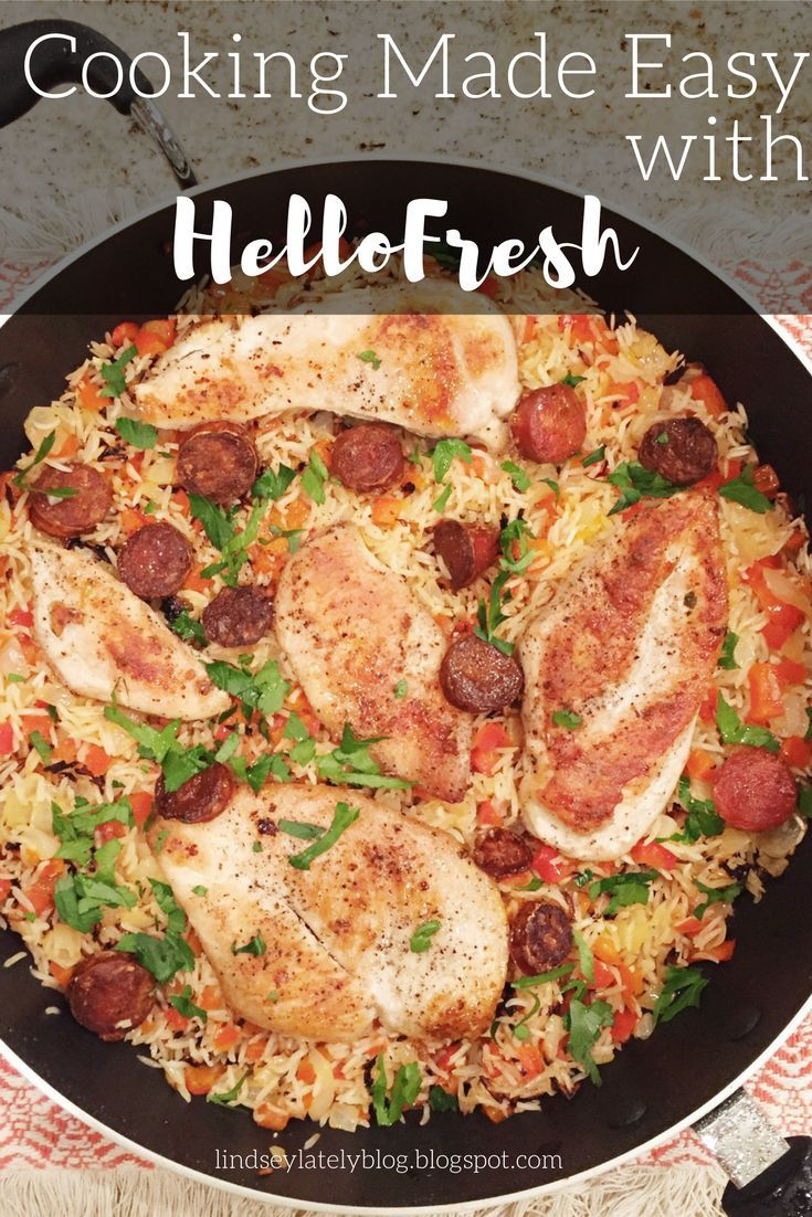 Easy weeknight meals with HelloFresh + a discount code!!