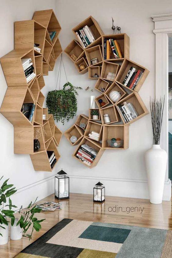 9 Beautiful Bookshelf Design Ideas One Brick At A Time In 2020 Bookcase Decor Bookcase Design Headboard With Shelves