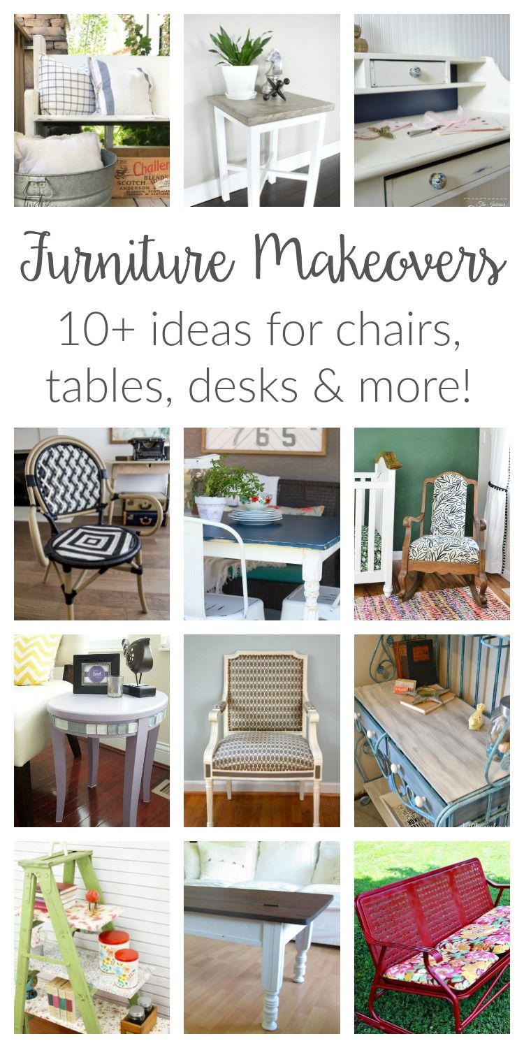 Furniture Makeover Ideas Merry Monday 168
