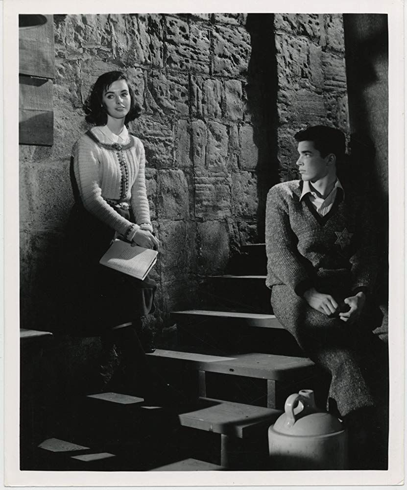 Fifties Millie Perkins and Richard Beymer in The Diary