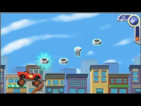 Blaze And The Monster Machines - Tool Duel Monster Truck Full Game English - YouTube
