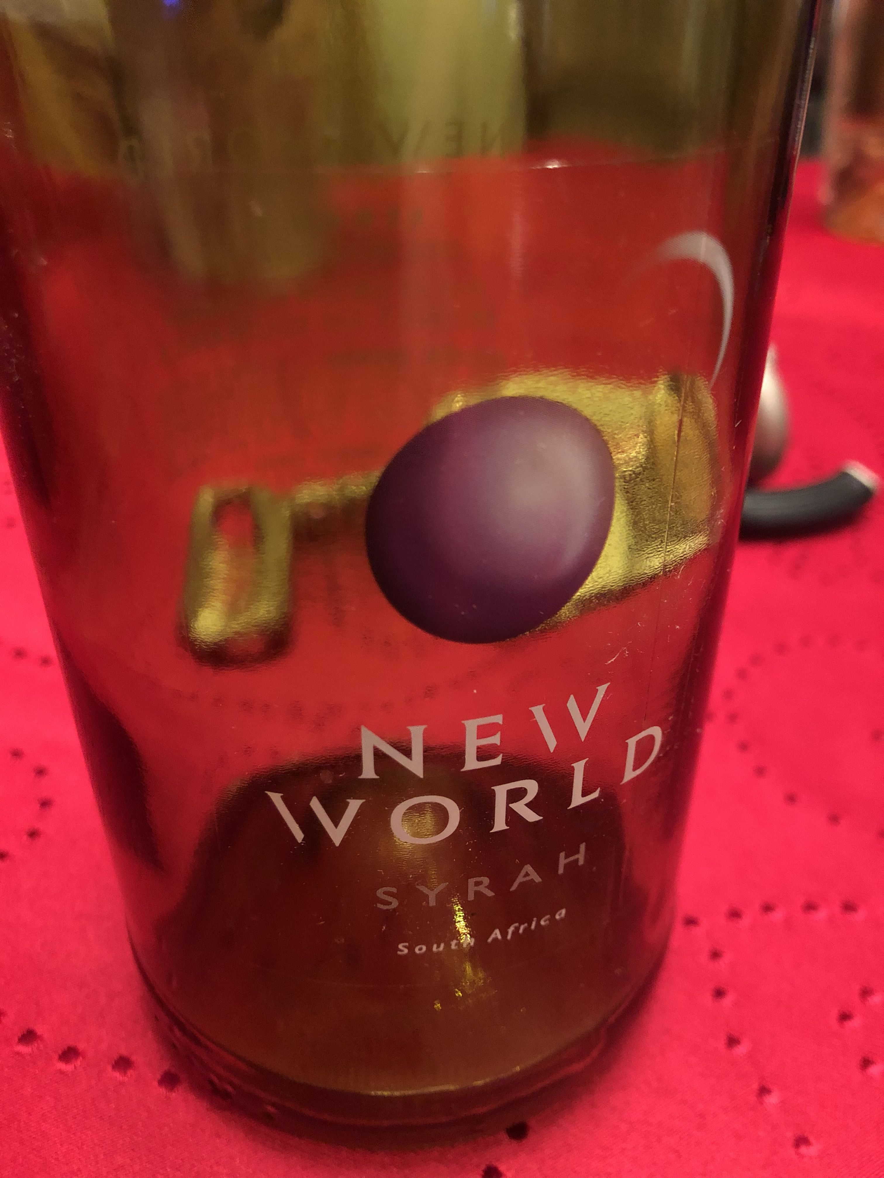 New World Syrah South Africa Syrah Africa Wines