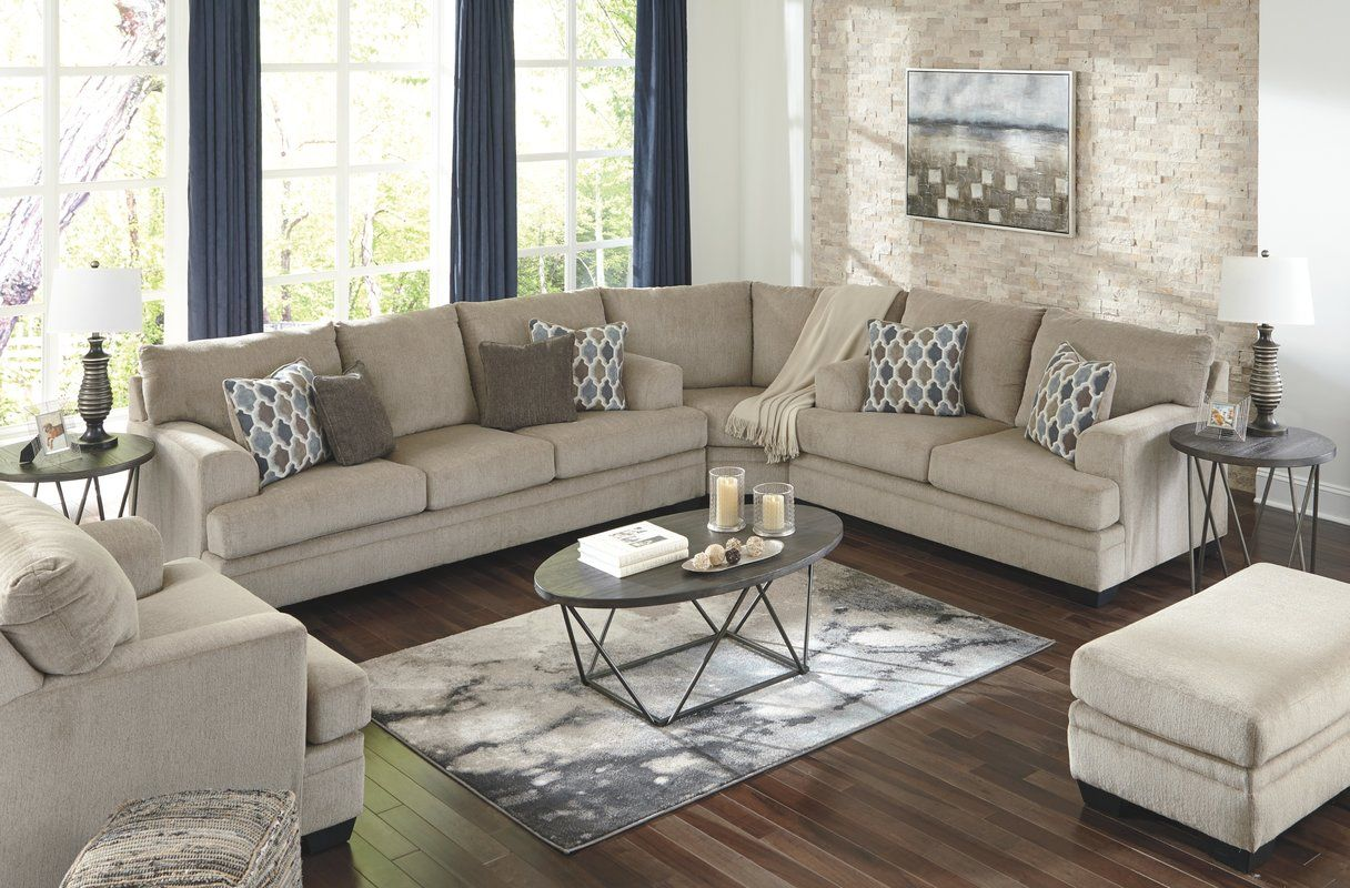 Robbyn Right Hand Facing Sectional  Living room sets, Farm house