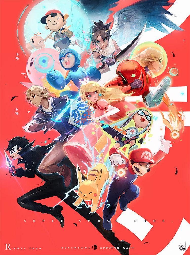 「Super Smash Brothers Ultimate」おしゃれまとめの人気アイデア|Pinterest