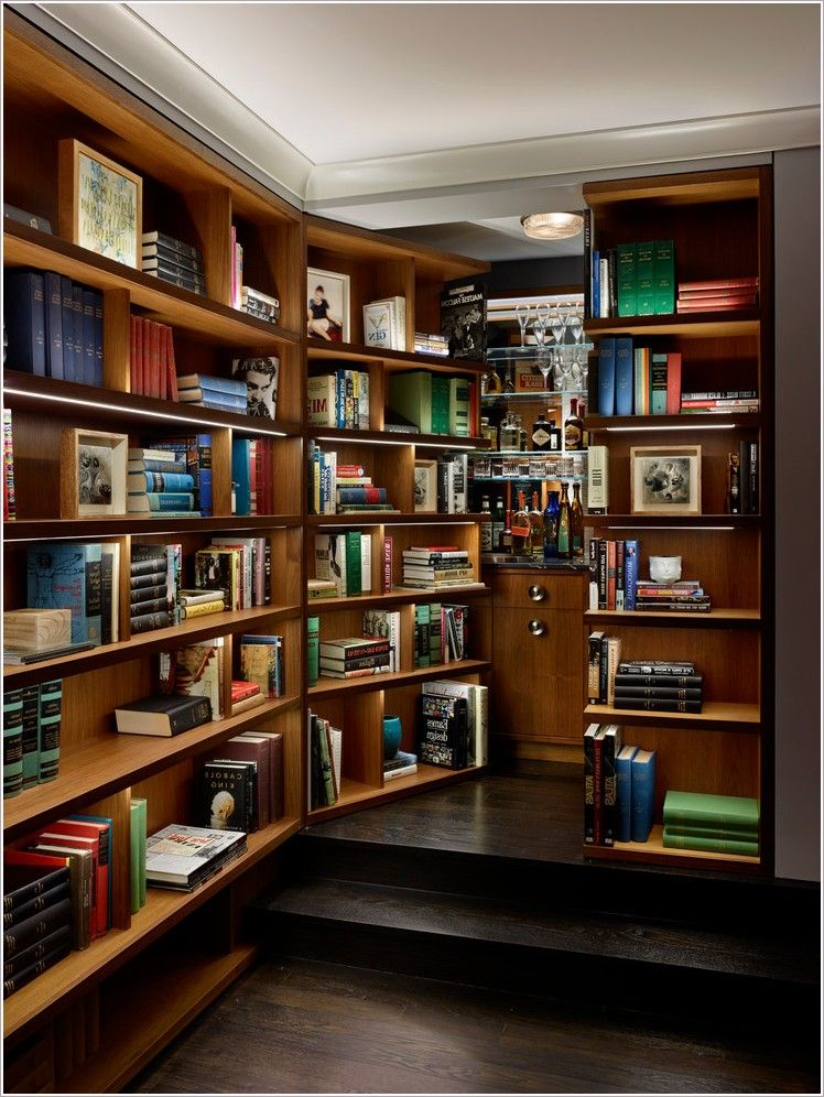 New York Bar Bookcase Built In Built In Bookcases