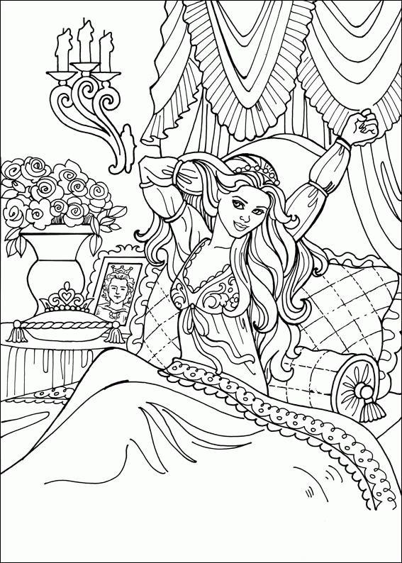 - Printable-Coloring-Pages-Of-Princesses-Coloring-Pages-Of-Castles-Barbie- Coloring-Book-Pages-Drawi… Princess Coloring Pages, Cartoon Coloring Pages,  Coloring Books
