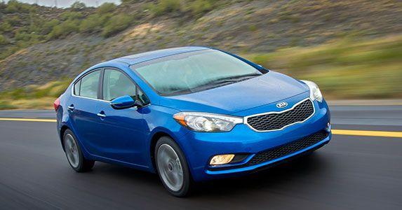 10 Fuel Efficient Cars That Aren T Hybrids Kia Forte Kia Hybrid Car