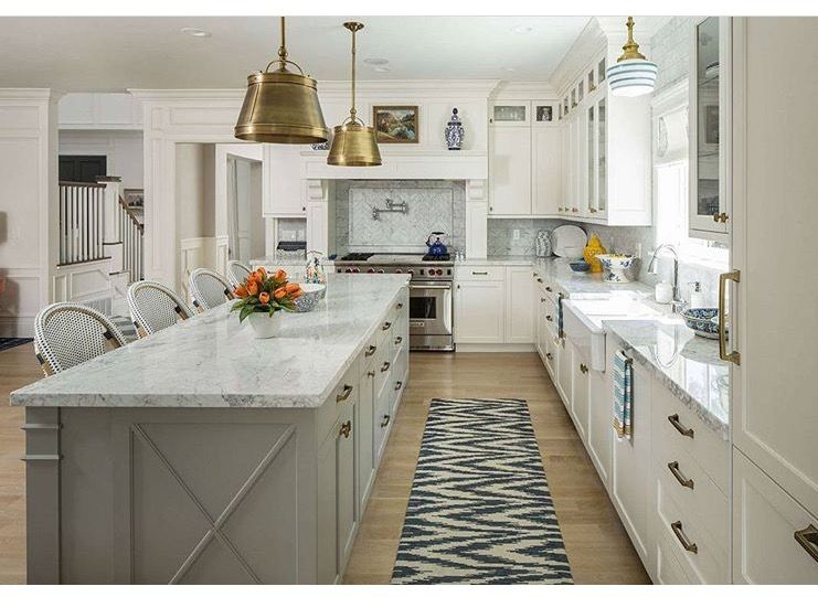 Pin By Dena Jouffray On LIGHTING Pinterest Lights - Grey cabinets marble countertops