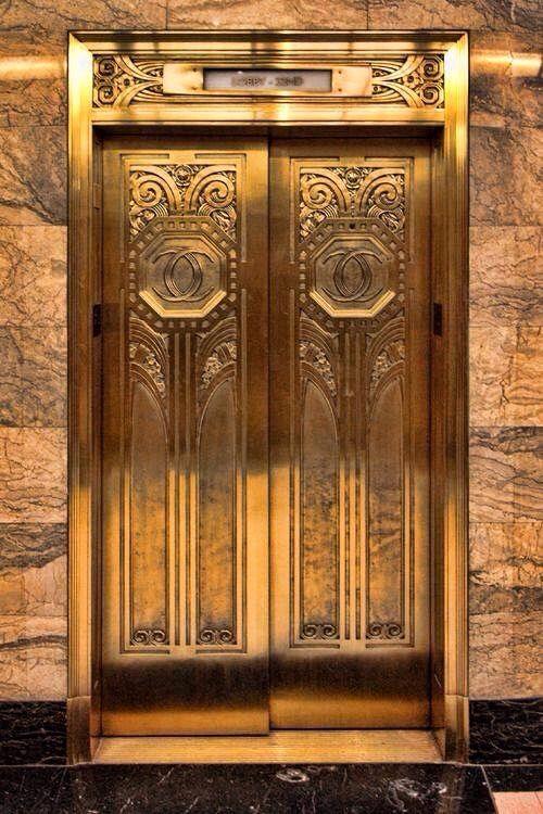 Elevator door CHicago