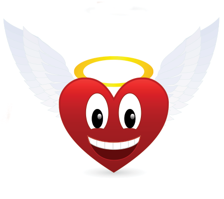 Angel Heart Angel Heart Emoticon And Angel