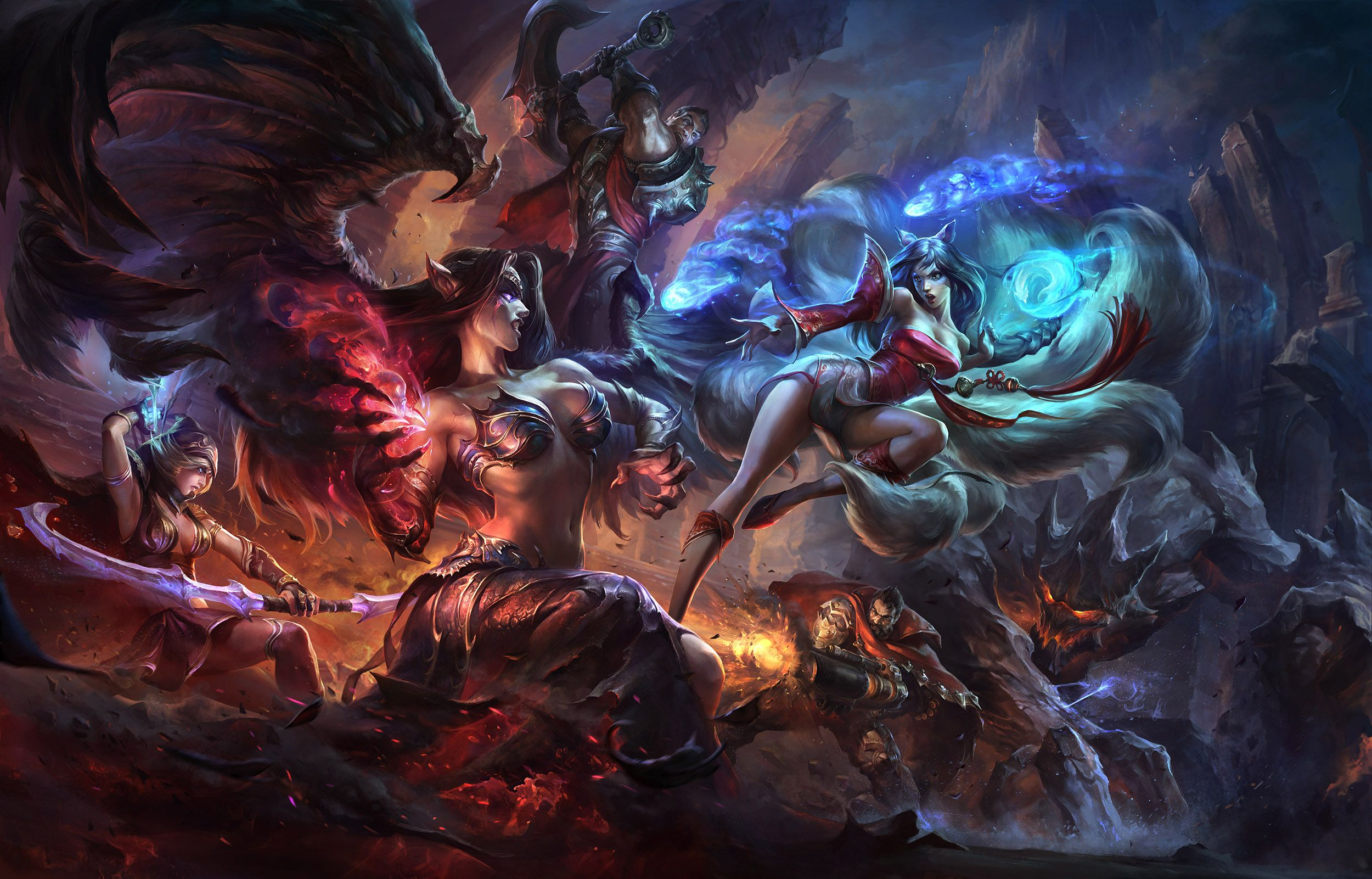 A Collection Of High Res League Of Legends Wallpapers Album On Imgur League Of Legends Lol Hinh Nền
