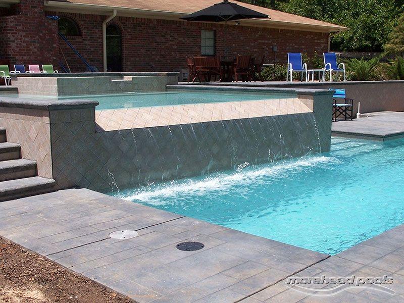 Bossier City Pool Design Shreveport Pool Construction Classic Lap Pool Lane Tile Spa Kiddie Pool Stamped Co Pool Designs Pool Construction Small Pool Design