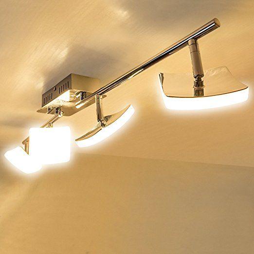 Lu-Mi® LED Deckenleuchte Designleuchte Deckenlampe modern - wohnzimmer deckenlampe led