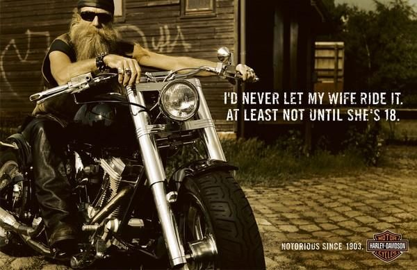 Harley Davidson Advertising: Advertising: Harley Davidson