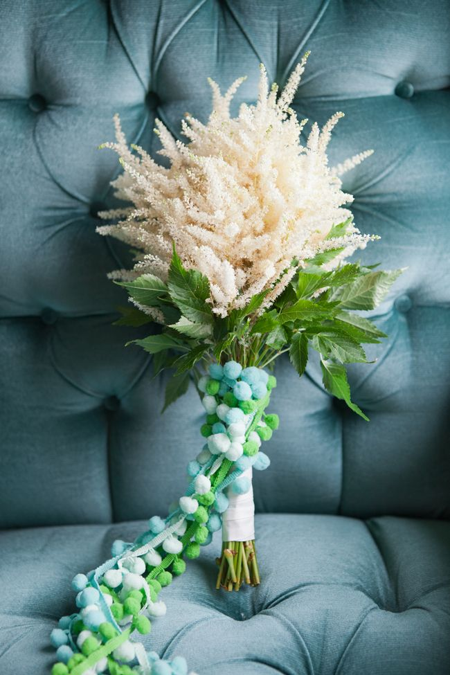 DIY Bouquet: Simple and Soft Astilbe! #astilbebouquet