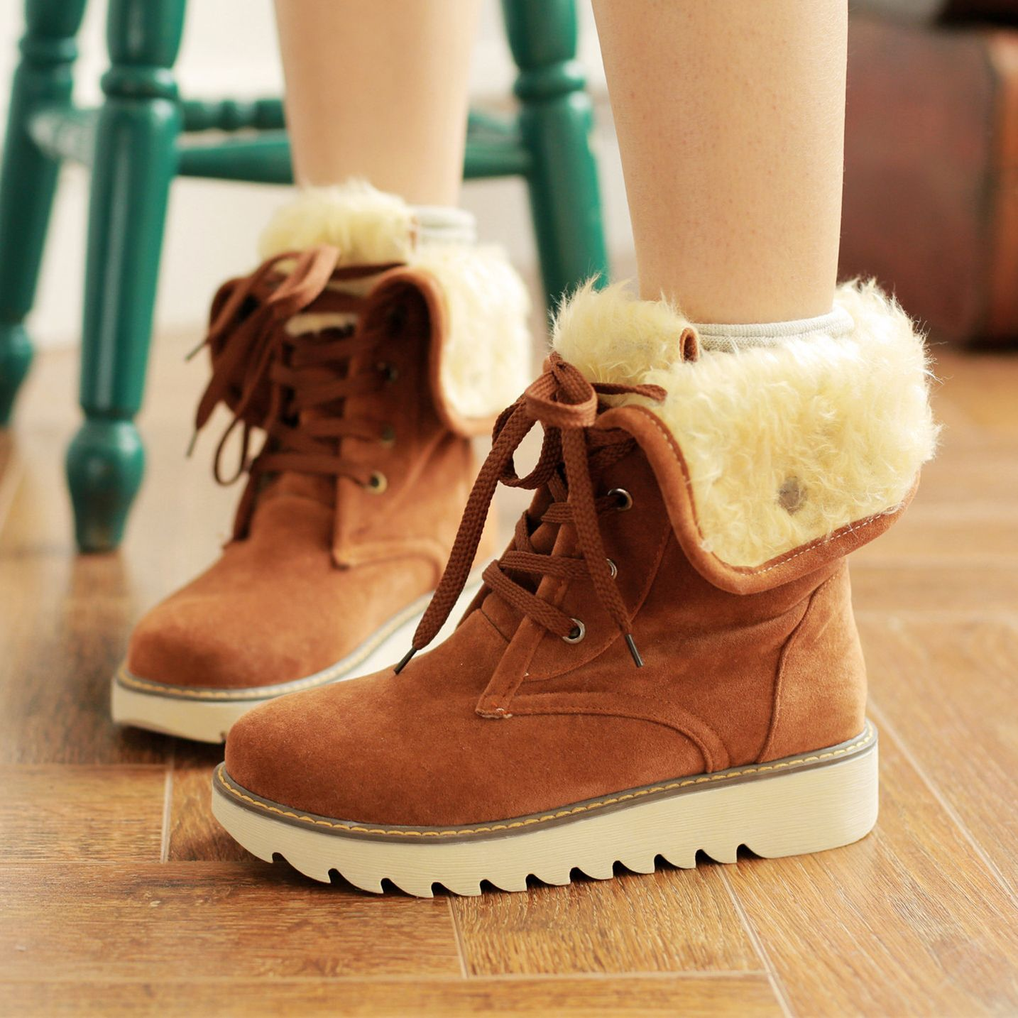 70911542fe088 Plus size womens warm snow boots from Cute Kawaii {harajuku fashion ...