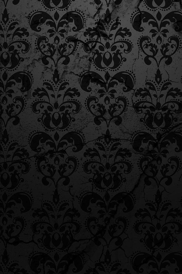 Wallpaper Black Pattern IPhone Background