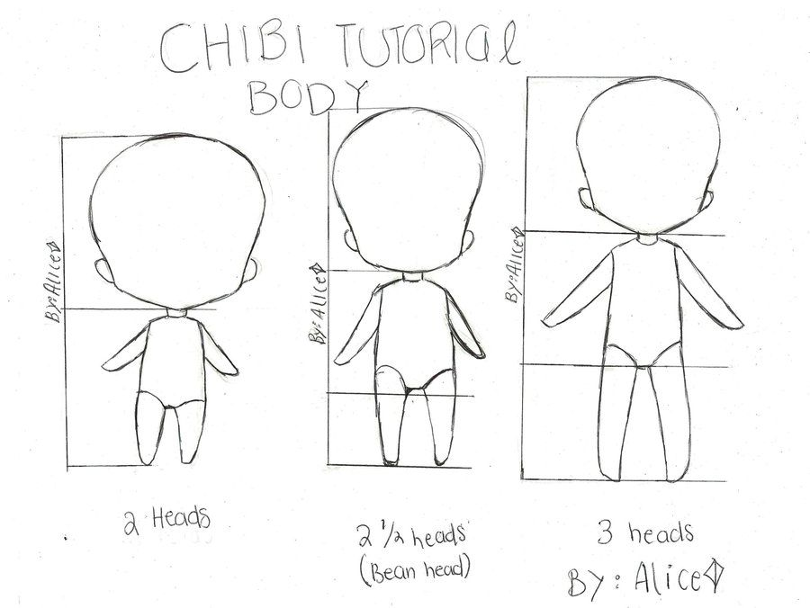 how to draw anime characters base
