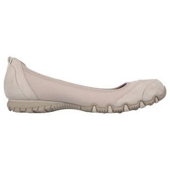 Skechers Women's Bikers Skims Relaxed Fit Slip On Shoes (Taupe)
