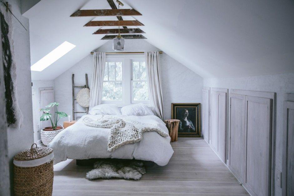 Slaapkamer Ideeen Zolder : Inspiratie voor een slaapkamer op zolder zolder de zolder en