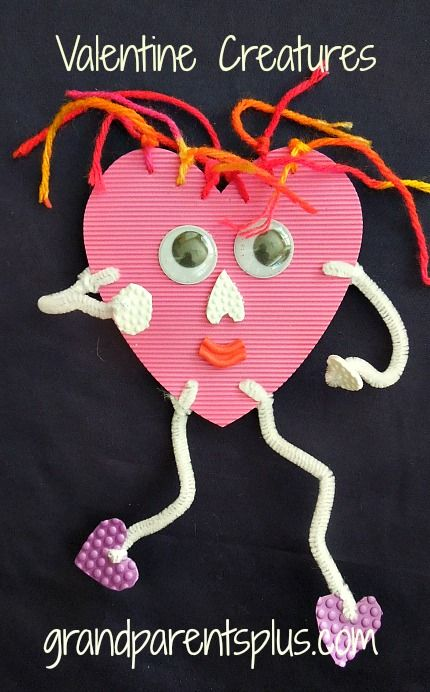 Easy Valentine Crafts For Kids Easy Arts And Crafts Ideas For