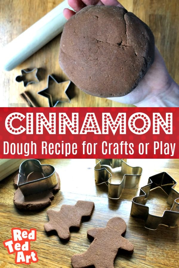 Easy Cinnamon Salt Dough Recipe - Red Ted Art - Make crafting with kids easy & fun