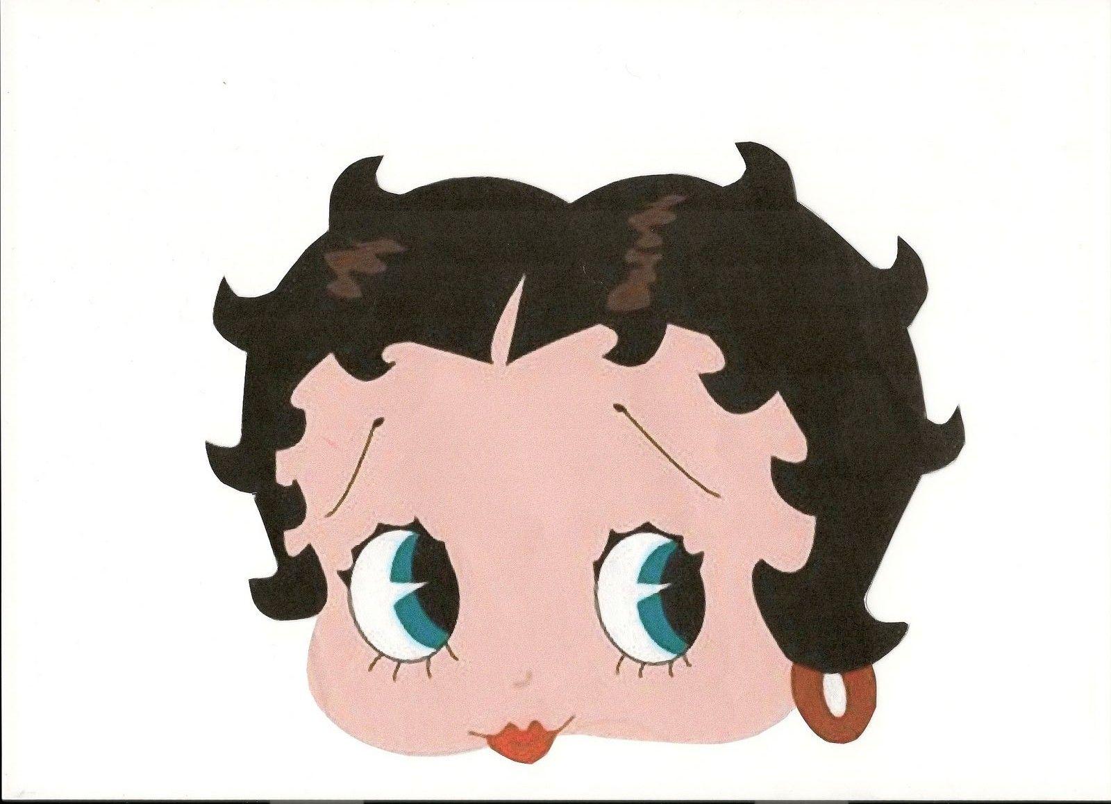 Contemporáneo El ángel Betty Boop Para Colorear Festooning - Dibujos ...