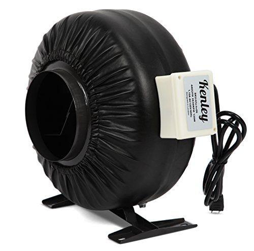 Kenley Inline Duct Fan 6 Inch Exhaust Booster Blower 440 Cfm Air Ultra Quiet Ventilation Fans Ventilation Fan Fan