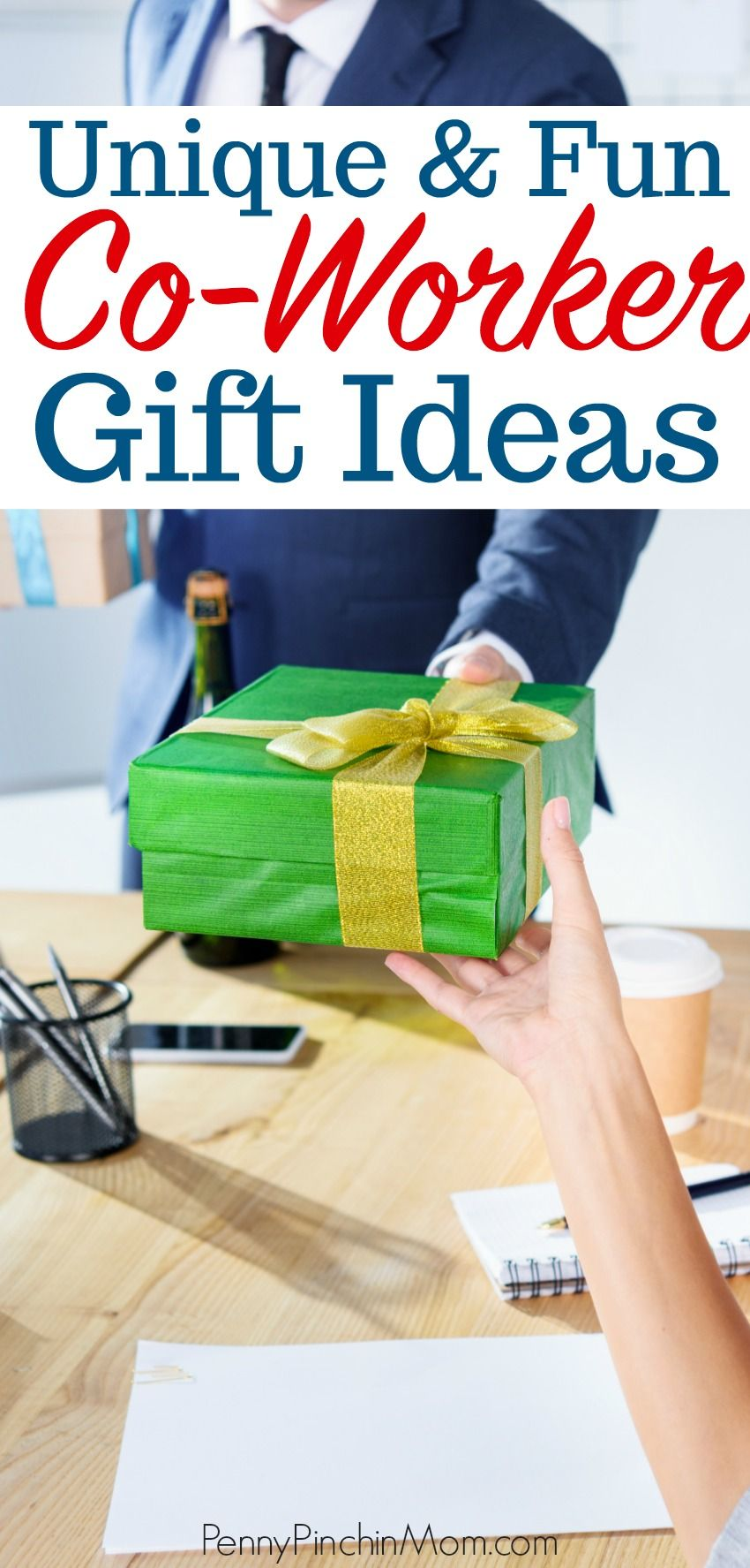 25 Unique Co-Worker Gift Ideas | Diy christmas gifts for ...