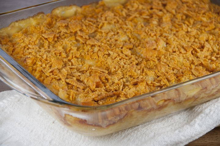macaroni and cheese bread crumb topping