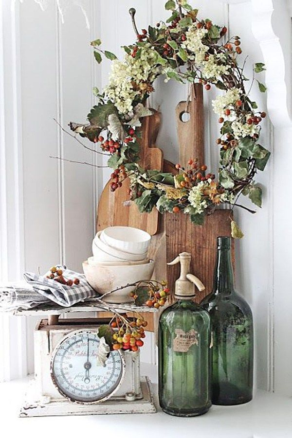 Photo of 20 Inspirational Farmhouse Fall Vignettes – Page 4 of 4 – The Cottage Market