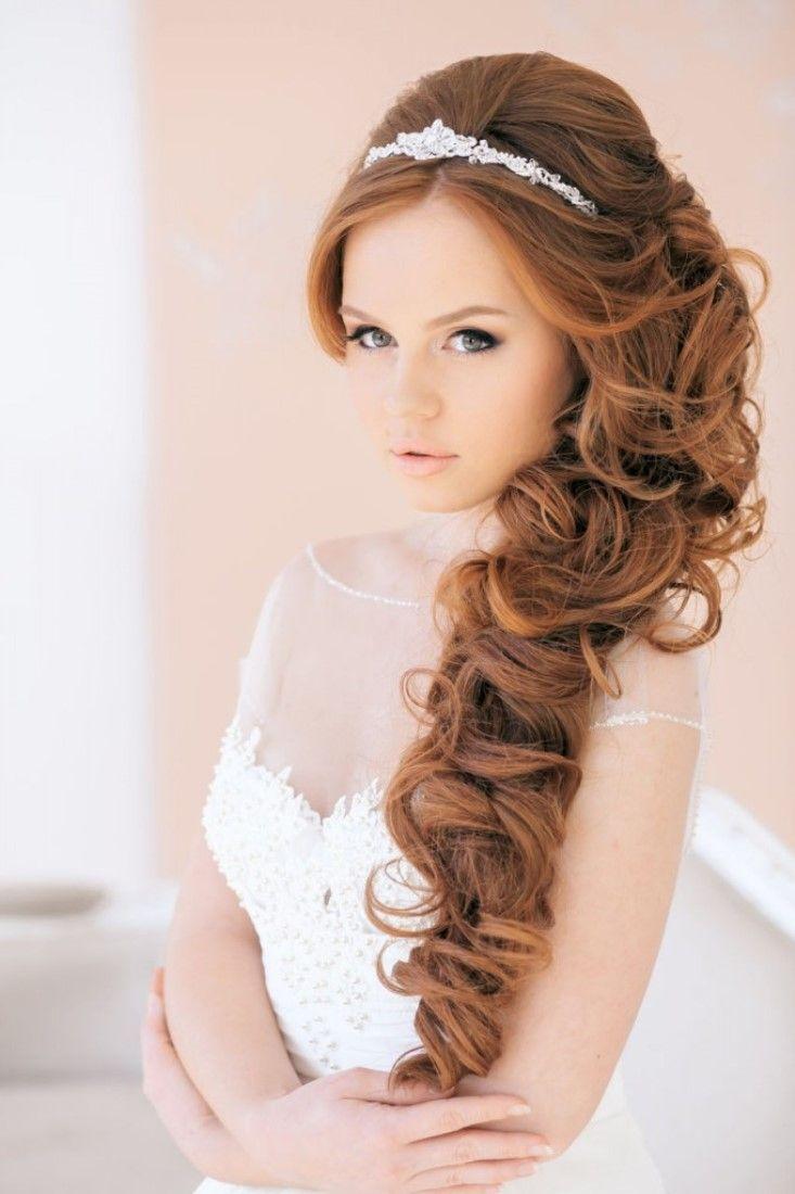 20 wedding hairstyles with tiara ideas   wedding hair   elegant