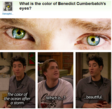 Photo of What Color are Benedict Cumberbatch's Eyes?