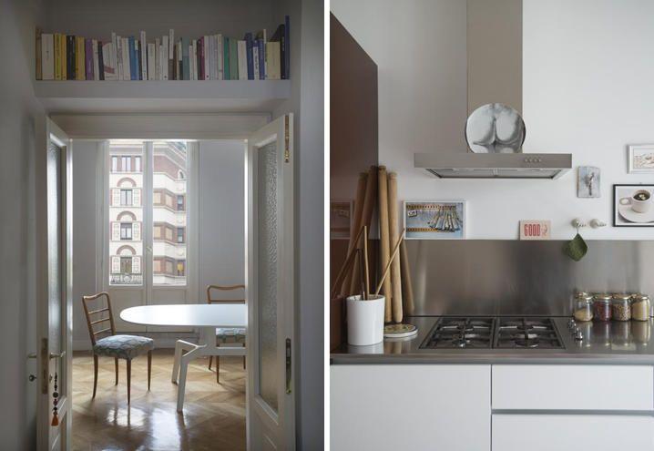 Appartamento vecchia Milano, tra mobili di modernariato e ...