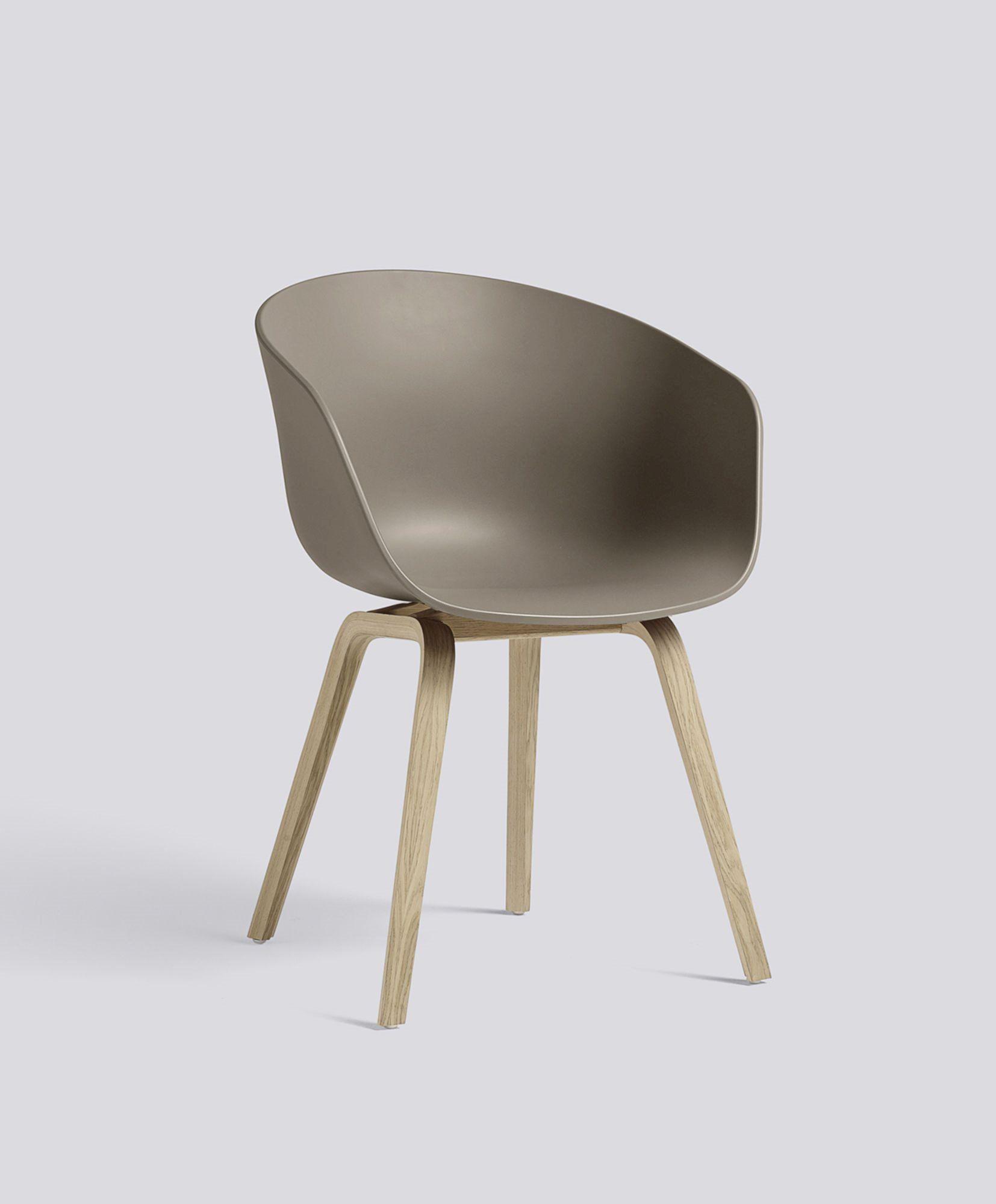 Aac22 Chair Oak Matt Lacquer Khaki Shell Hay Hay Chair Green Chair Chair