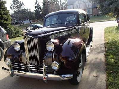 1940 packard model 1800 122 wb 110 motor car sedans and cars 1943 Lincoln Car ebay 1940 packard 1940 packard 1800 sedan 4 door restored 1941