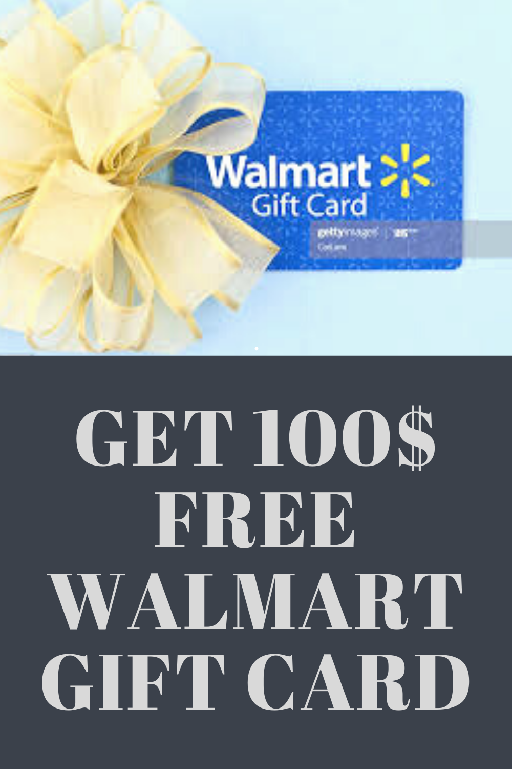 Photo of Walmart Free Gift Card