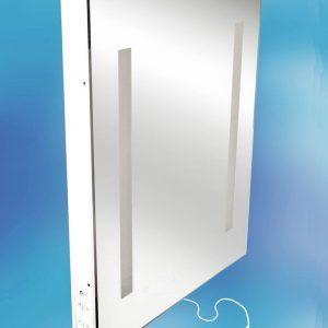 illuminated bathroom mirror cabinets with shaver socket http