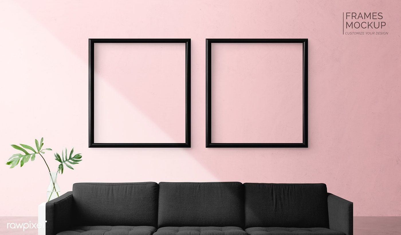 Frame Mockup In A Living Room Free Image By Rawpixel Com Aom