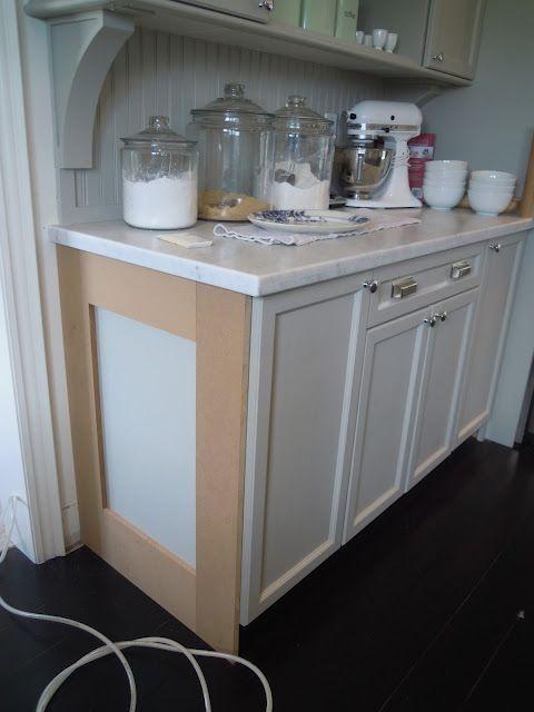 Updating Builder Grade End Cabinets Evolution Of Style Kitchen Upgrades Kitchen Cabinets Makeover New Kitchen Cabinets