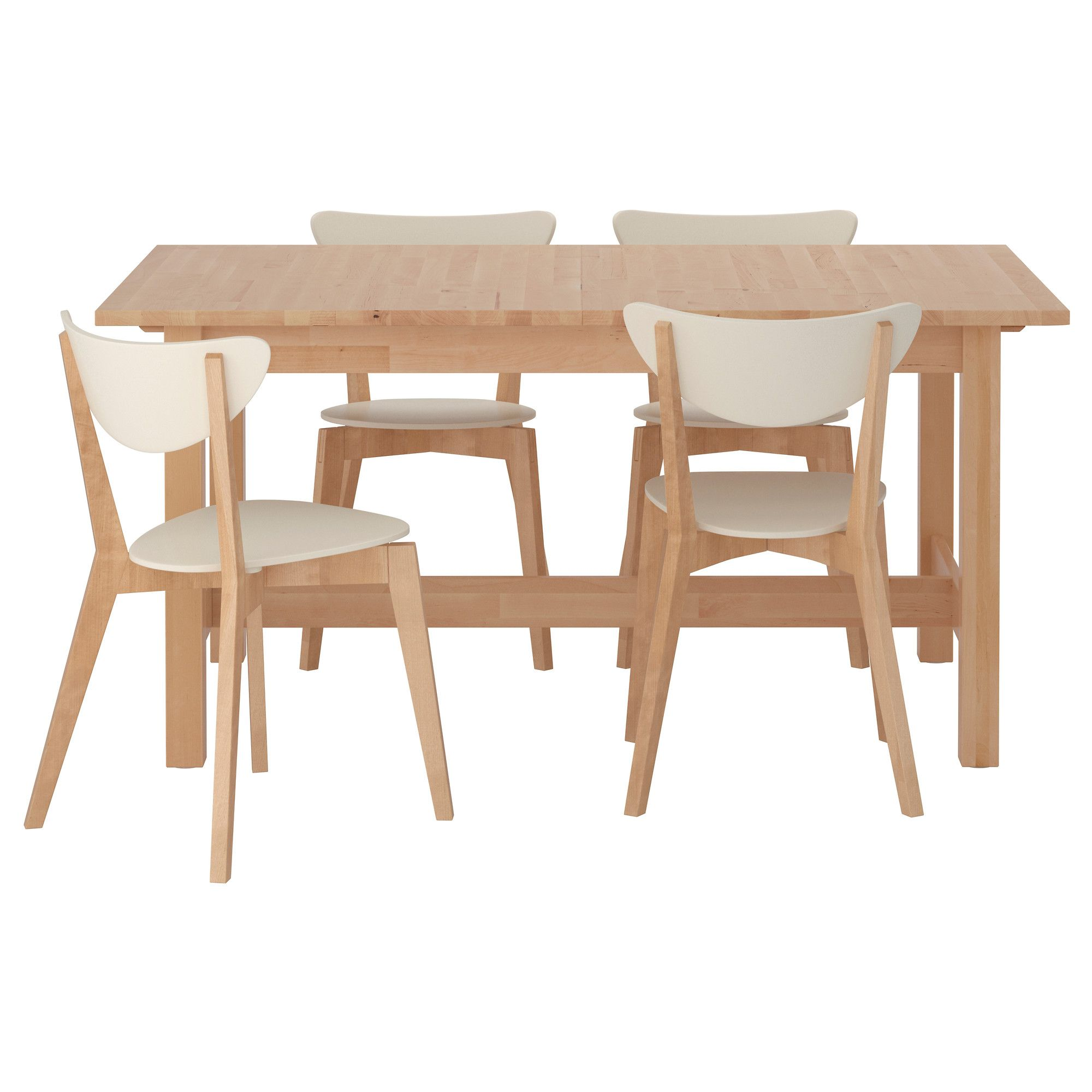 Norden nordmyra table et 4 chaises 319 ikea for the - Table et chaise en pin ...