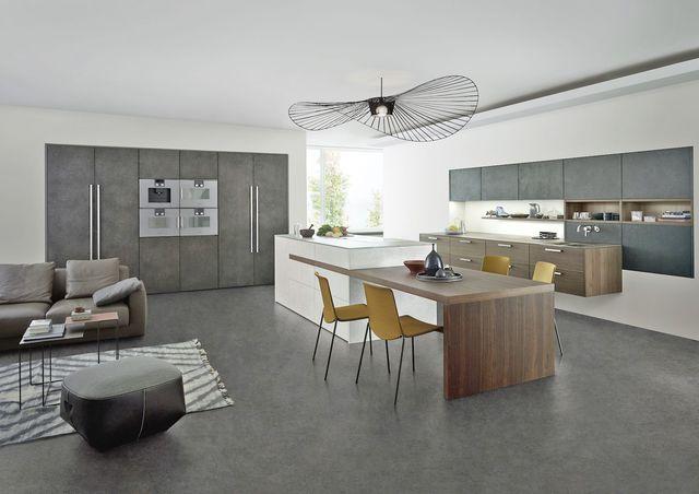 Stunning cuisine gris blanc et bois ideas for Cuisine bois toys r us