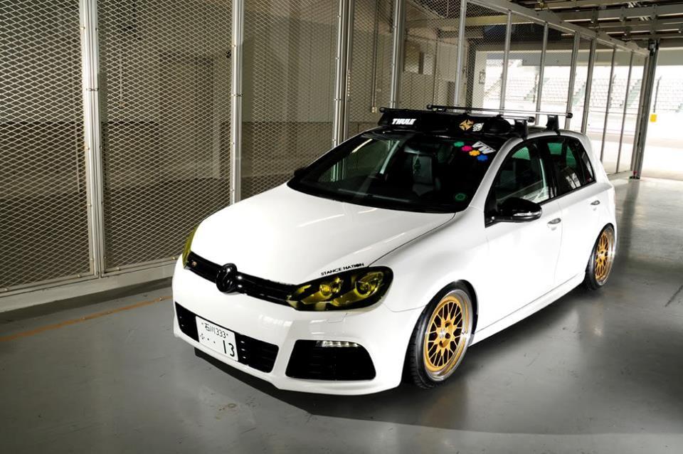 golf vw gti volkswagen mk7 mk6 modified slammed roof cars boy sport japan vwvortex forums