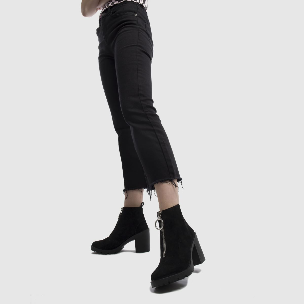 622f7c9a19 schuh black dilemma boots Čižmy Nad Kolená