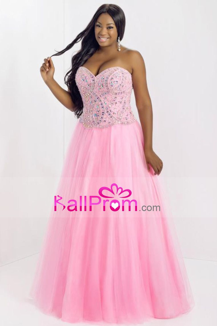 2014 Smart Prom Dresses Princess/A Line Floor Length With Rhinestone ...