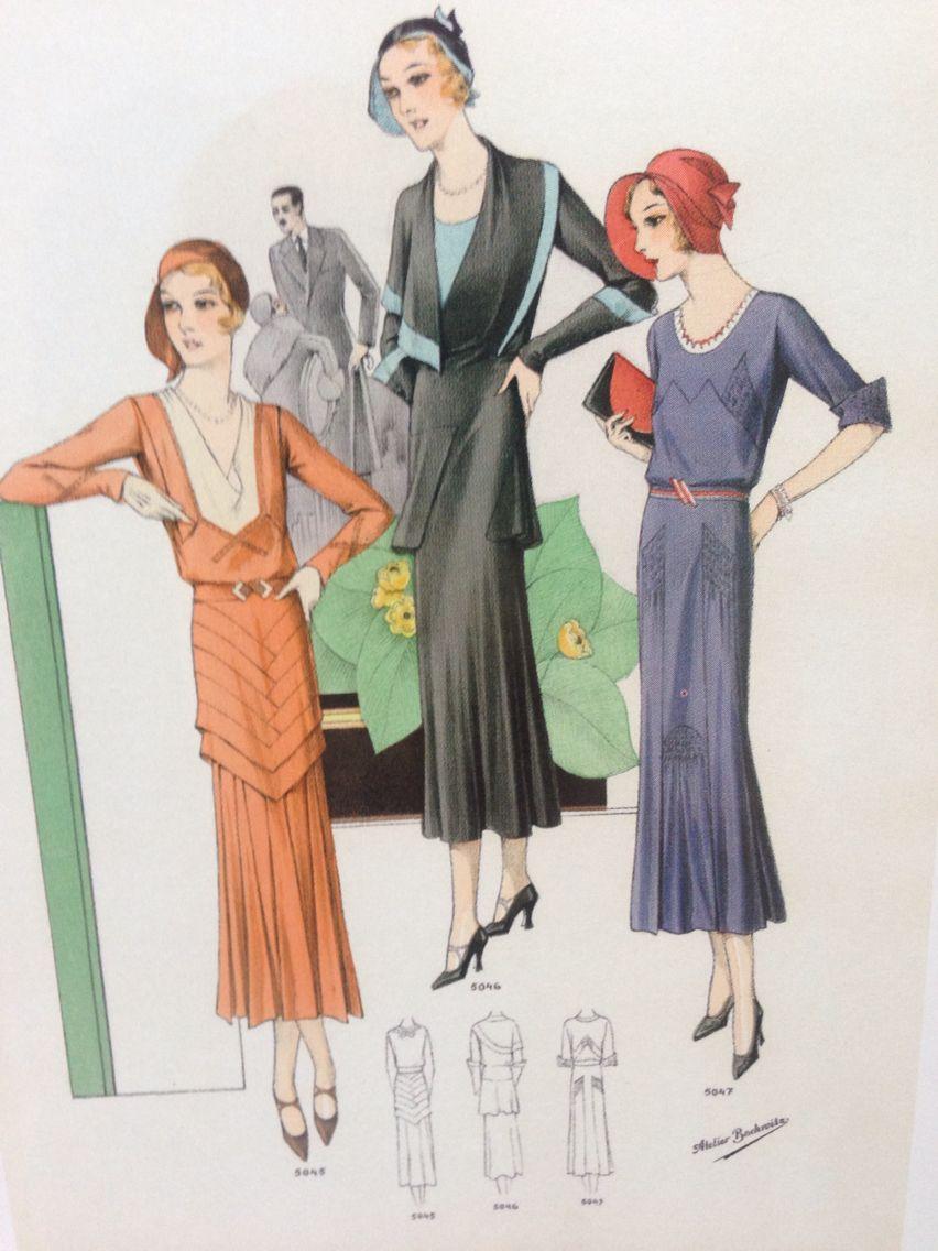 Chic Parisien 1930 (With images) Minimalist fashion