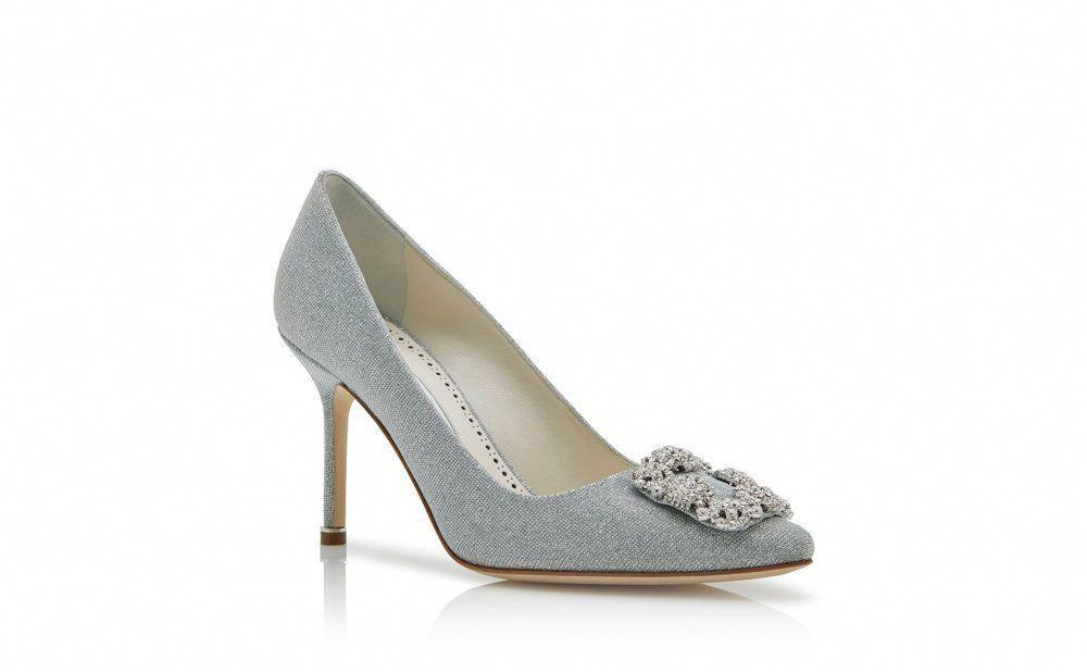 72c1062a Manolo Blahnik - zapatos de tacón HANGISI NOTTURNO BRIDE #ManoloBlahnik  Manolo Blahnik Hangisi, Pumps