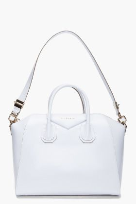 GIVENCHY    WHITE MEDIUM ANTIGONA TOTE  aca1c94890984