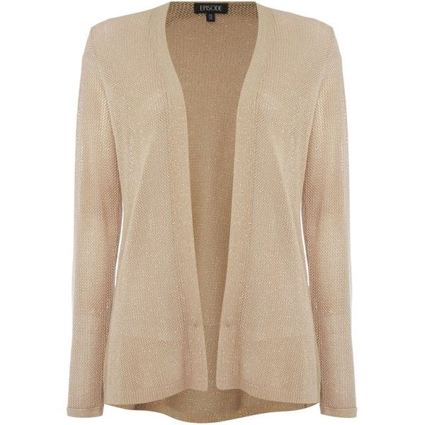 Episode Waterfall cardigan ($79) ❤ liked on Polyvore featuring ...