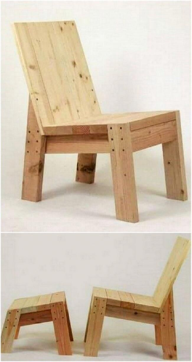 Esszimmerstühle Selber Bauen Diy Wooden Pallet Chair Project 36 Simplewoodworkingprojects